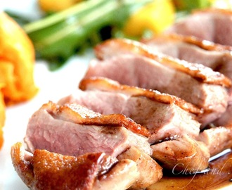 Sous Vide Duck Breast with Balsamic Honey Sauce