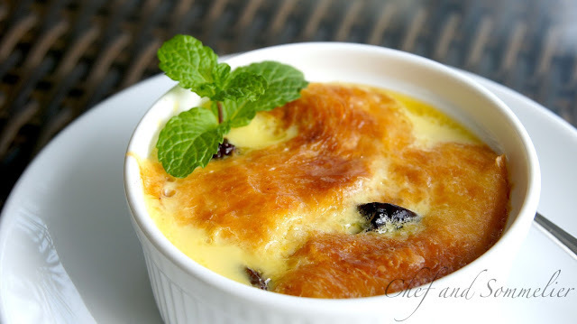 Individual Bread and Butter Pudding