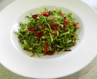Seed And Nut Wombok Salad with Sesame Dressing