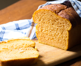 Sweet Potato Bread with Honey | #BreadBakers