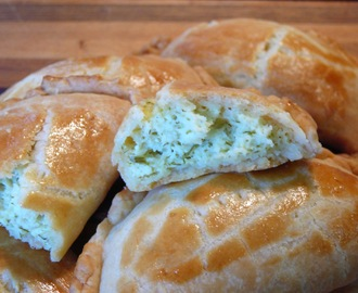 """A Baker's Odyssey"" Personal Challenge # 8 Flaky Turkish Feta Turnovers"