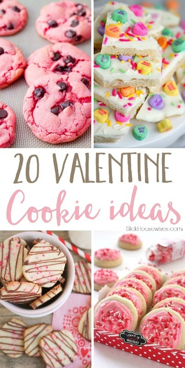 20 Valentine Cookie Recipes That Will Make you Fall in Love