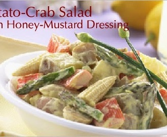 Potato Crab Salad