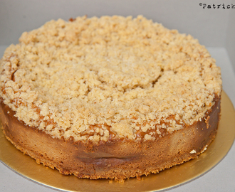 Coffee Oat Crumble Cheesecake