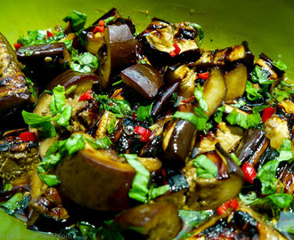 Asian Dressed Aubergine