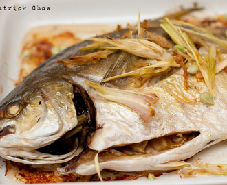 Vietnam Style Grilled Fish