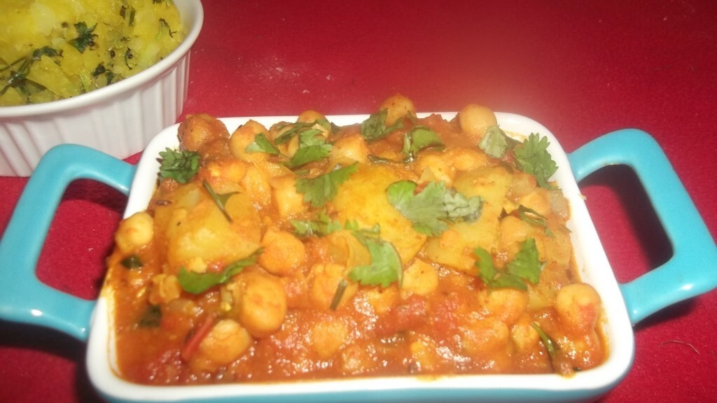 Chick Peas Potato Curry