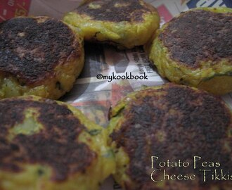 Blast from the Past - Potato Peas Cheese Tikkis