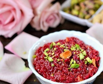 Beetroot Halwa Recipe | Easy Beetroot Halwa Recipe | Beetroot Halwa Without Khoya