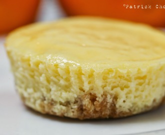 Mini Cheesecakes ( Orange Flavor )