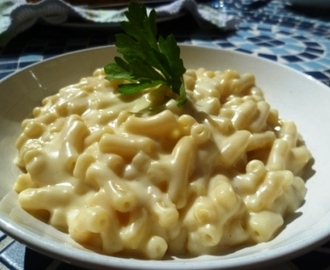Traditional Macaroni Cheese (as appeared on studentrecipes.com)