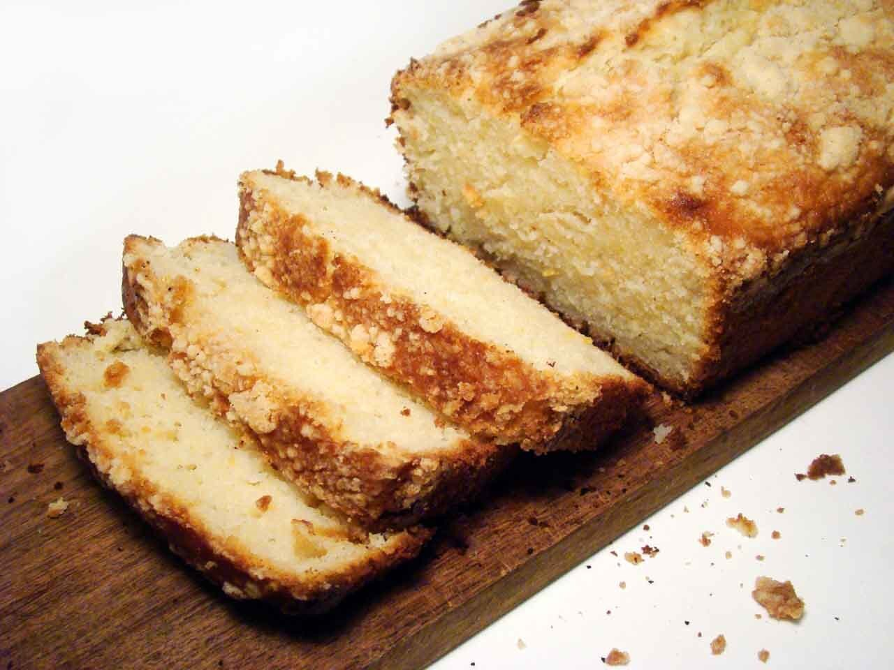 Un simple budin de limón... sin manteca