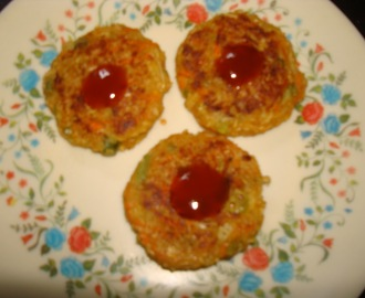 oats vegetable tikki