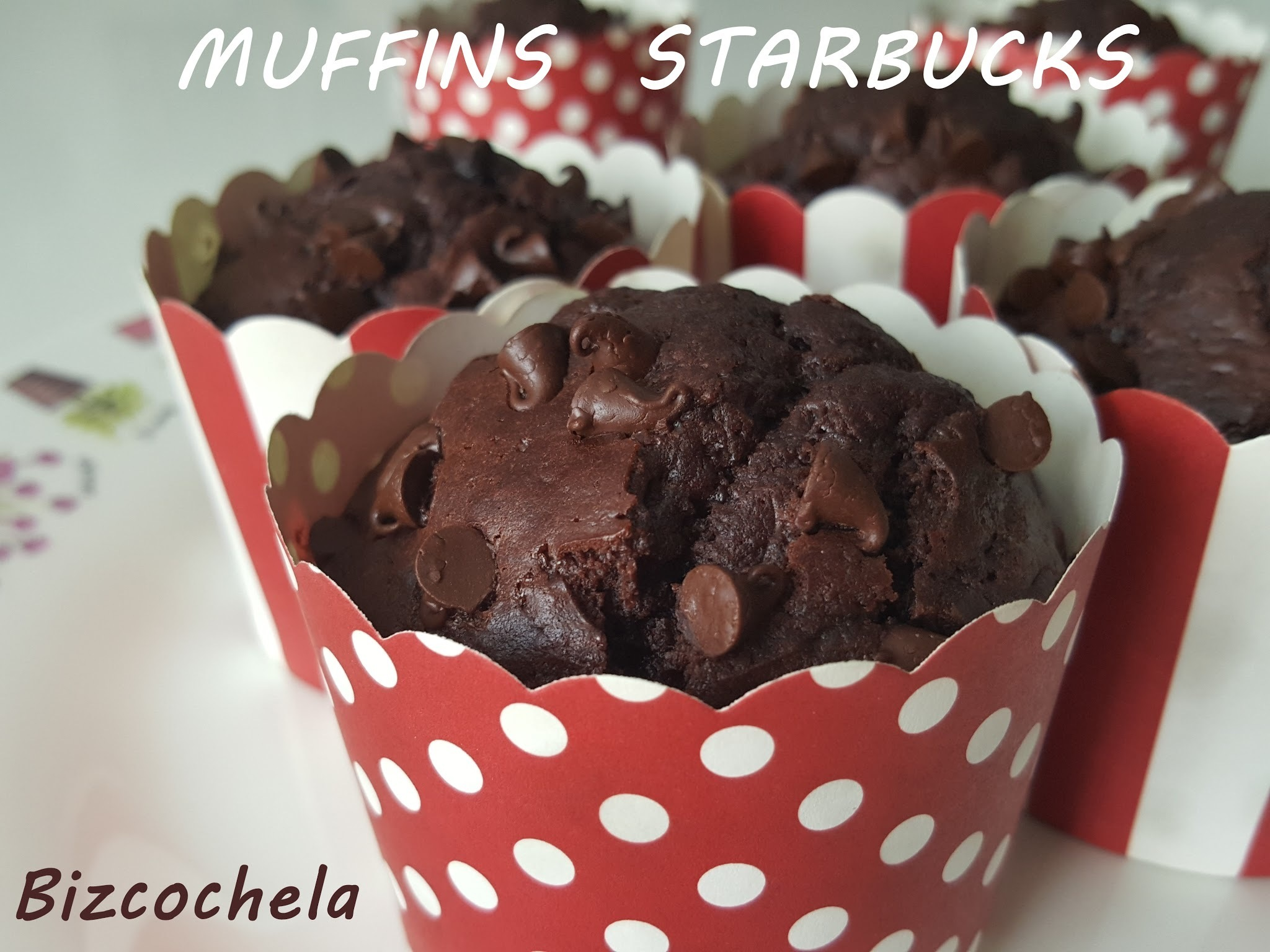 MUFFINS DE CHOCOLATE ( STARBUCKS)