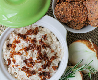 Caramelized Onion Dip – Gluten Free