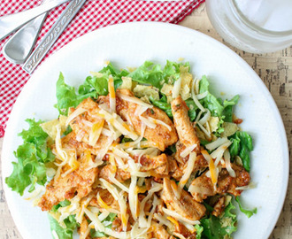 Easy Chicken Taco Salad – Gluten Free