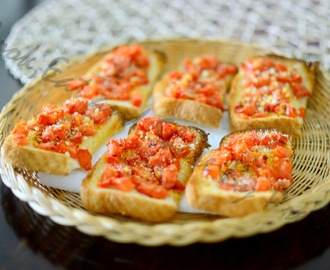 Simple Bruschetta !!!