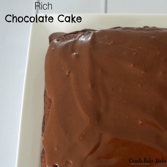 Rich Chocolate Cake – Fabulous Foodie Fridays #39