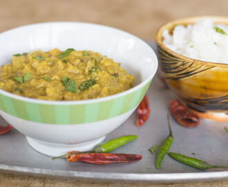 Moong Dal (Mung Lentils-an Indian Dish)