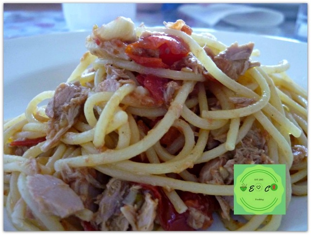 Quick and easy spaghetti with tuna