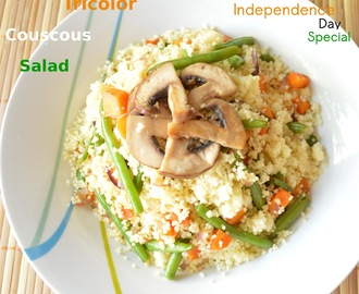Couscous Salad (Indian Independence Day Special)