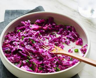 Red Cabbage Detox Salad
