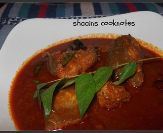 Fish Curry in Tomato Paste