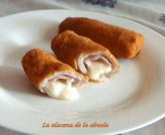 FLAMENQUÍN DE BACON Y QUESO