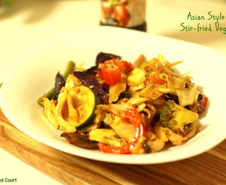 Asian Stir-fried Veggies