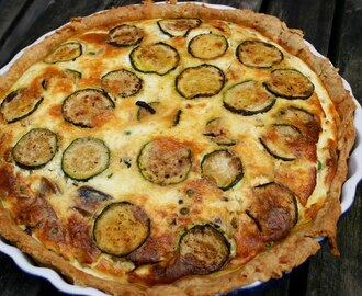 Beach Quiche with Total Greek Yoghurt