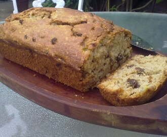 Guest Kitchen... Mum's Banana and Raisin Loaf