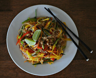 Comment on Vegan glass noodle and mango salad by Ashley