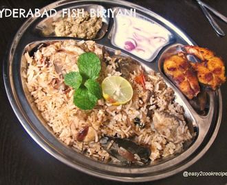HYDERABAD FISH BIRIYANI