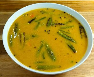 Manjula's Kitchen Sindhi Kadhi (Vegetable in Gram Flour Gravy) Post navigation