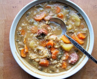 A 5:2 Fast Day Diet Winter Meal Plan with Low Calorie Highland Stew Recipe
