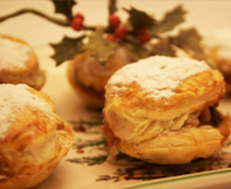 Nan's 1970′s puff pastry Christmas mince pies (a la Morecambe & Wise!""