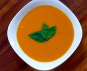 Sweet Potato, Coconut & Lemongrass Soup