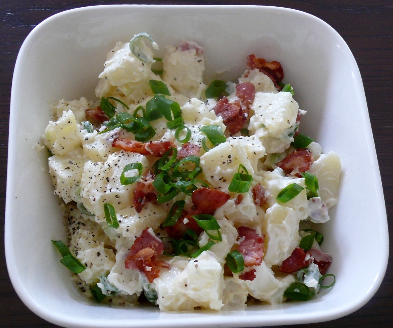 Potato & Bacon Salad with Easy As Homemade Mayo