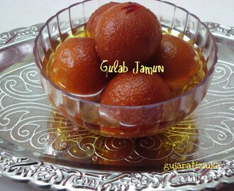 Gulab jamun – How to make Gulab jamun from milk powder -janmashtami special recipes