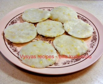 Billa kudumulu - Steamed Rice patties -  With step by step pictures - Polala amavasya recipes