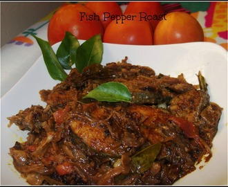 Fish Pepper Roast