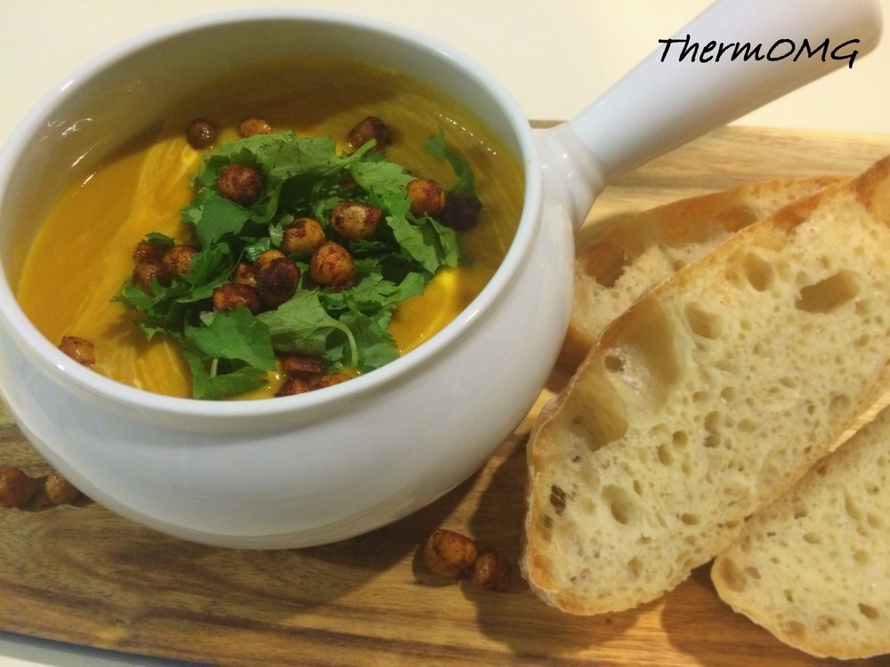 Sweet Potato and Chickpea Soup