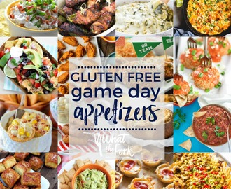 Gluten Free Game Day Appetizers