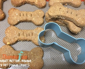 ThermoFun – Member Spotlight – Peanut Butter, Banana and Oat Doggie Treats Recipe
