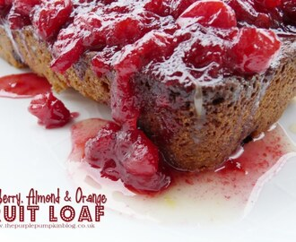 Cranberry, Almond & Orange Fruit Loaf {Cook: December 2012}