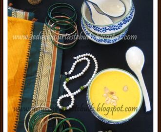 MW Carrot Kheer For Aarthi's Virtual Bridal Shower
