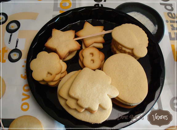 Galletas de Mantequilla {para decorar}