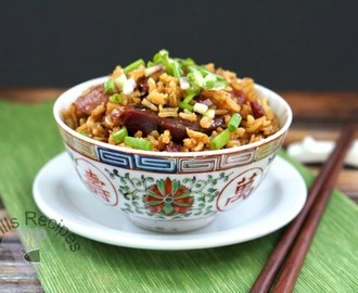 Waxed Meat Rice aka Lap Mei Fan ~ 臘味飯