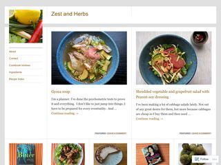 Zest and Herbs