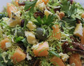 Shaved Sprout Salad with Figs & Hazelnuts